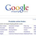 Google Shopping (beta) – Ein erster Überblick