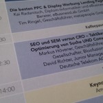 SEO & SEM versus CRO - Conversion Conference 2011