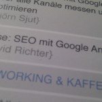 SEO mit Google Analytics – GA Summit 2012